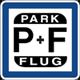 Park & Flug am Flughafen Frankfurt a. Main Logo